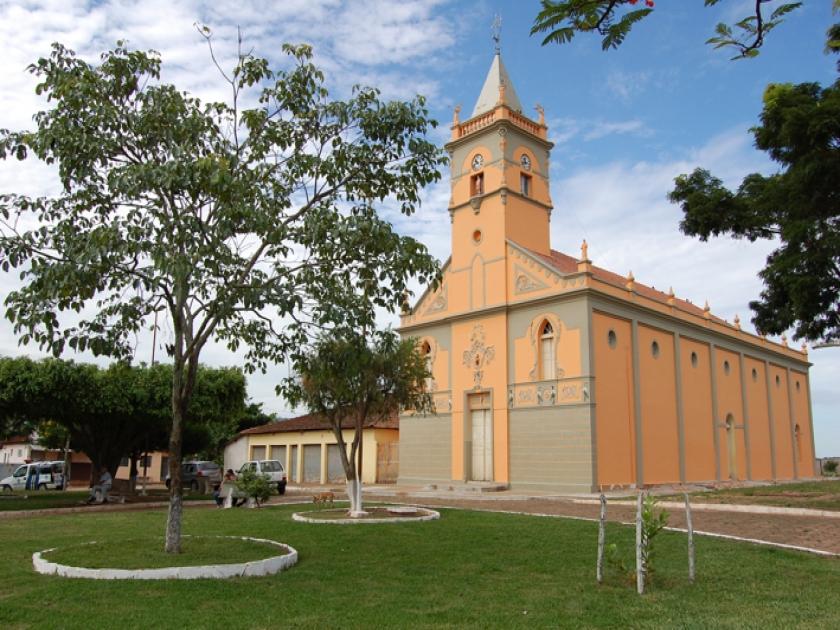 Igreja do Senhor Bom Jesus no distrito de Guardinha