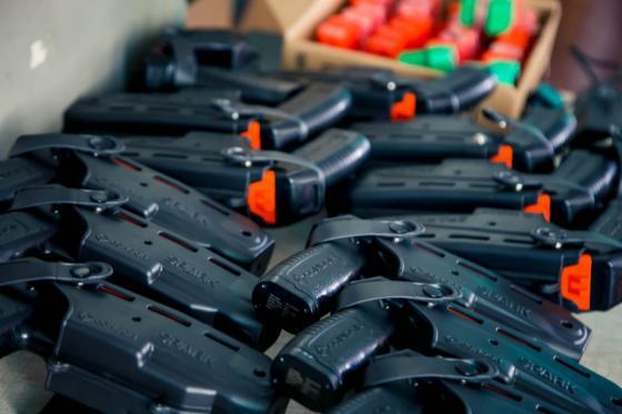 GCM passa por capacitação para uso de armas não letais