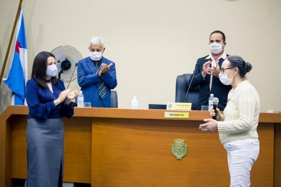 Vigilância em Saúde é homenageada pela Câmara Municipal
